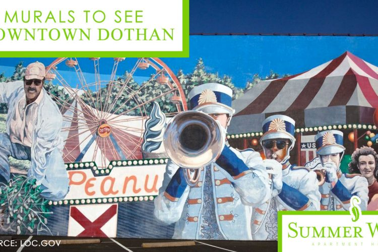 8 Murals to See in Downtown Dothan