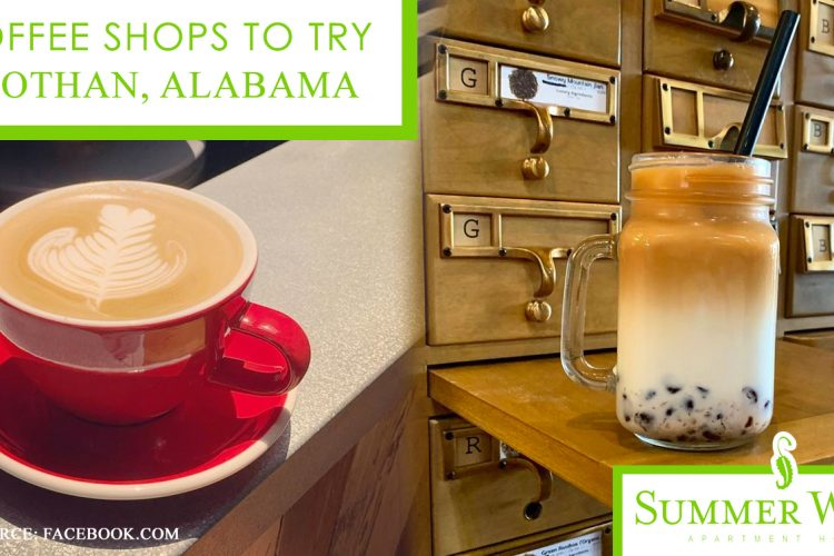 4 Coffee Shops to Try in Dothan, Alabama