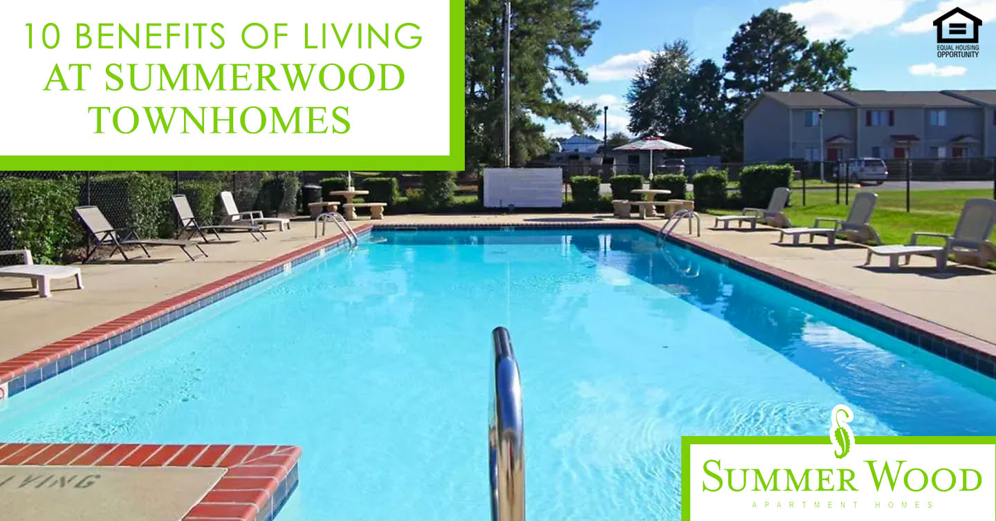 benefits of living at Summerwood Townhomes