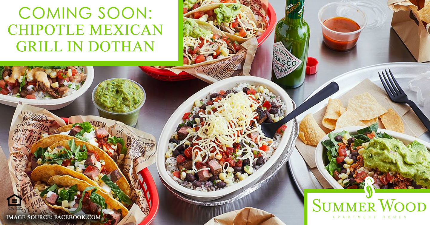 Coming Soon: Chipotle Mexican Grill in Dothan