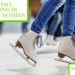 Ice Skating in Downtown Dothan